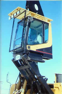 Elevated cab