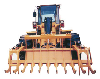 Loader Stacking Rake