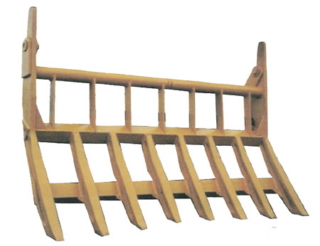 Semi-Low Profile Dozer Rake