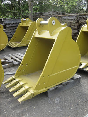 Extra Heavy Duty Excavator Buckets - Ransome Equipment Sales